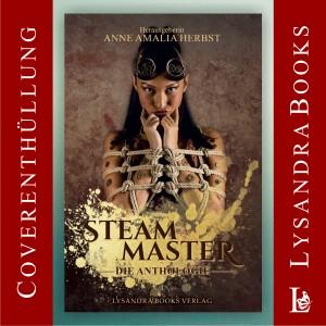 Buchcover Steam Master Bondagefotos victorianisch, technisch rope bondage