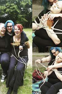 Bondage spielen picknick picnic spaß