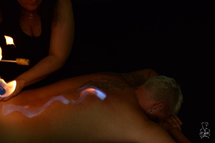 Fireplay, eine ganz besondere BDSM Herausforderung
