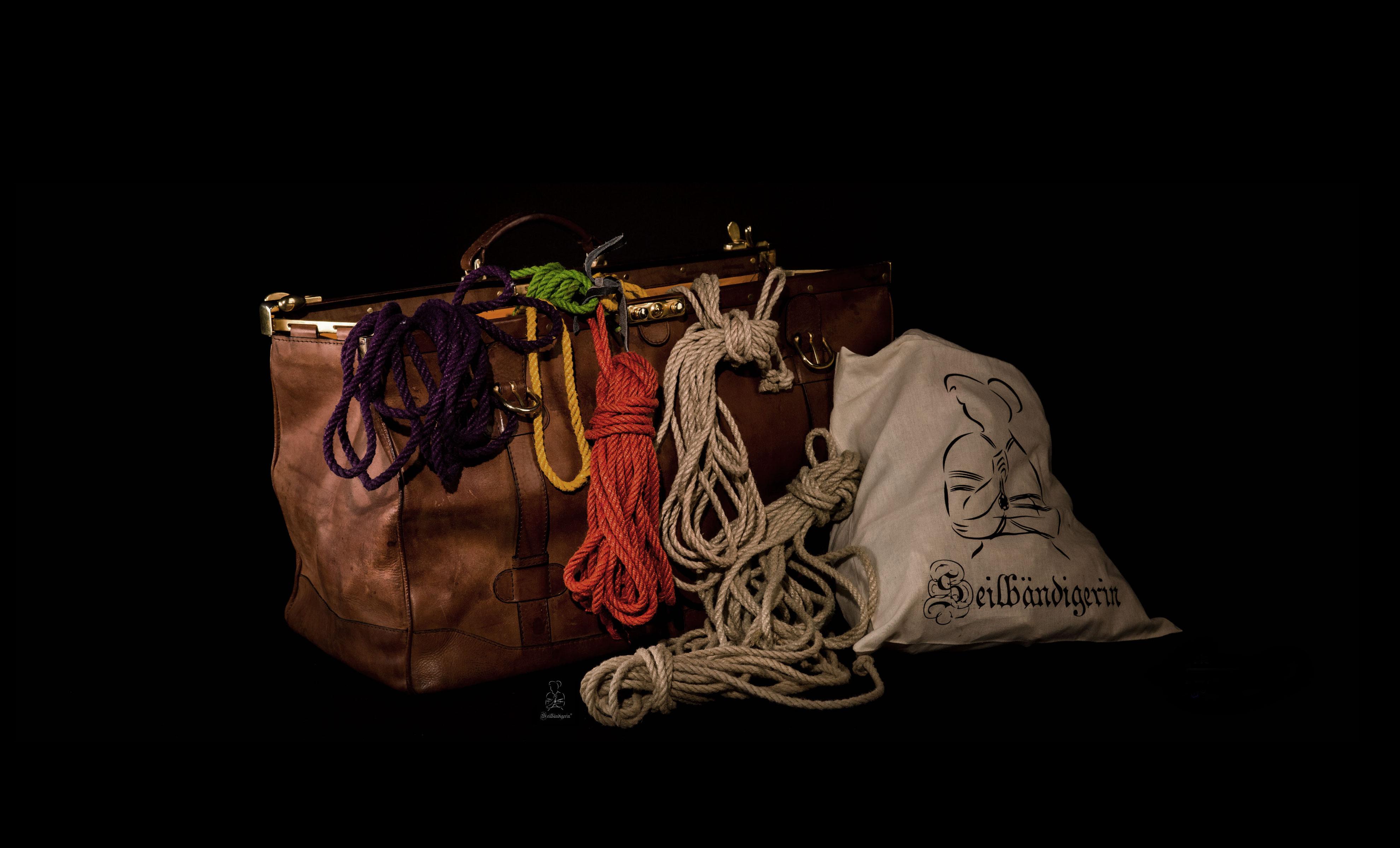 Fotoshooting, Bondage Foto Shooting mit Seilen